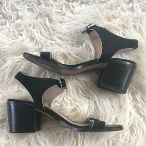 Elizabeth & James 9 Ryann Chunky Block Heel Sandal